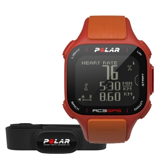 Komputer treningowy Polar RC3 GPS HR Red